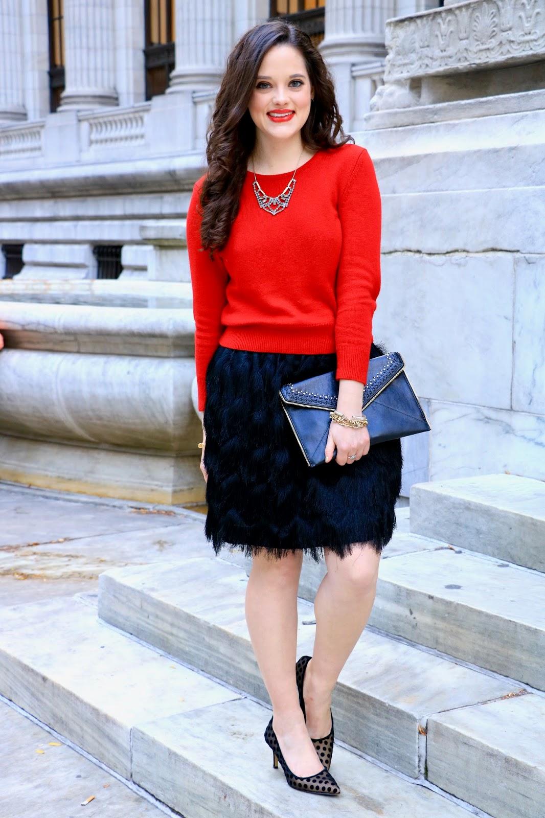 holiday fashion blogger pics