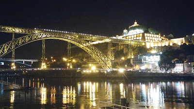 Oporto puente Luis I y Monasterio del Pilar