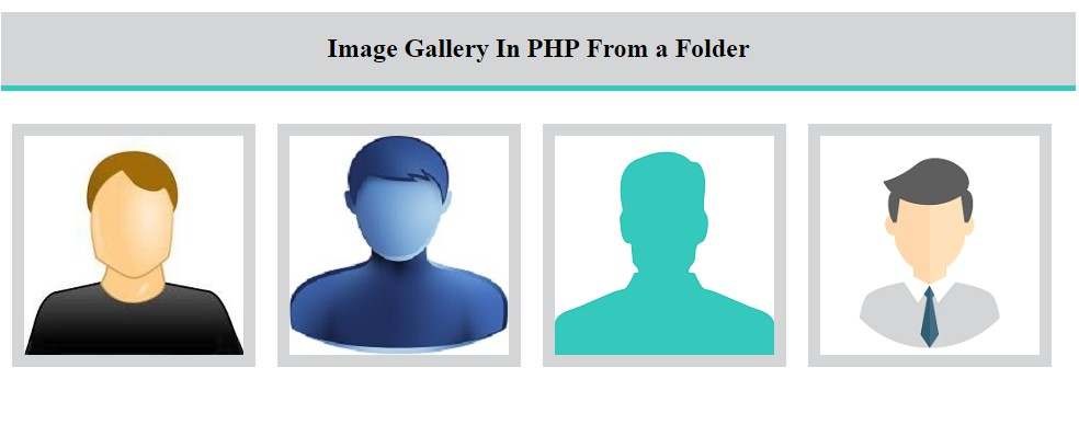 how to create image in php