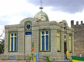 Iglesia de Santa María de Sion de Etiopía