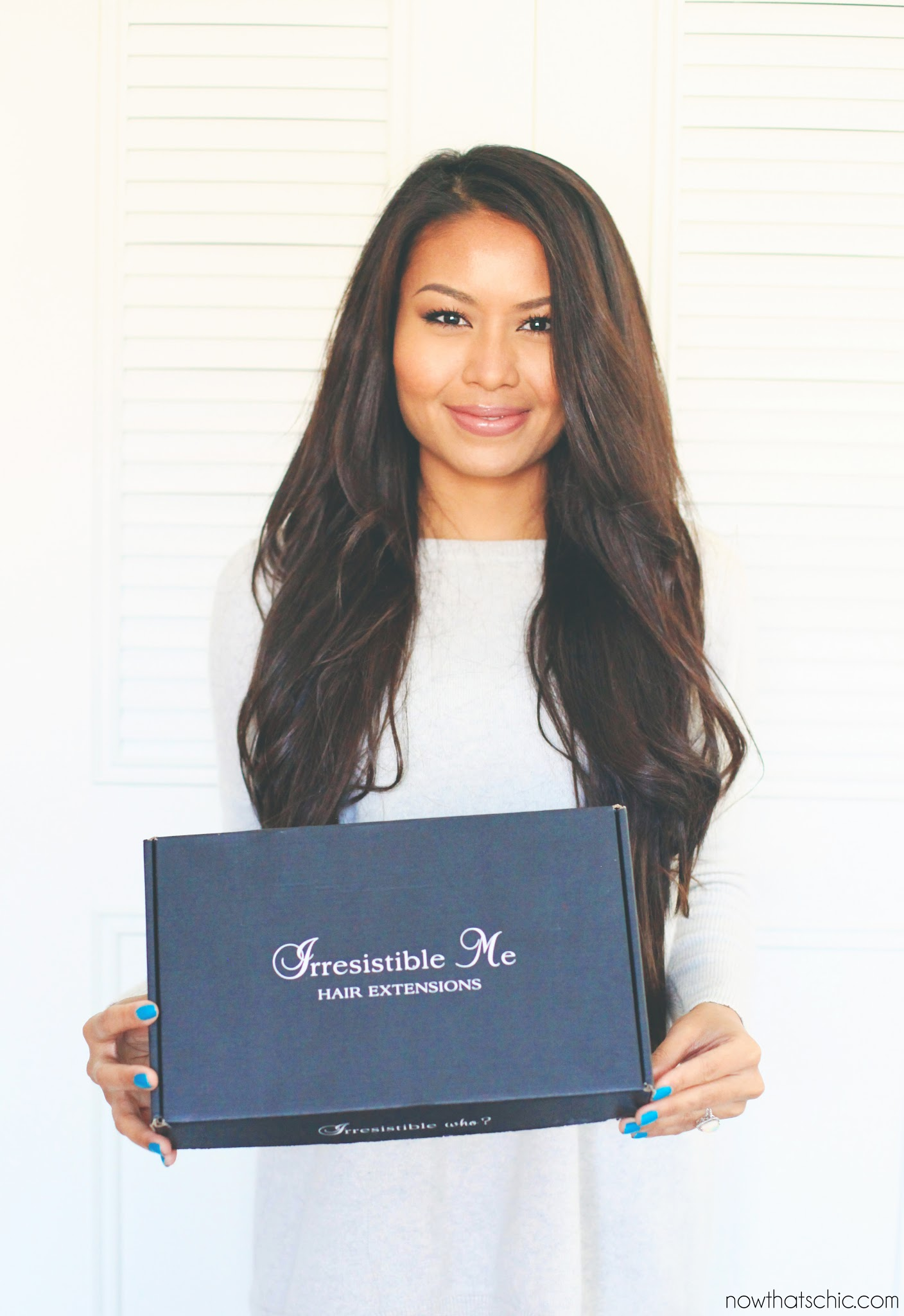 Now Thats Chic Volumizing Hair With Irresistible Me Hair Extension