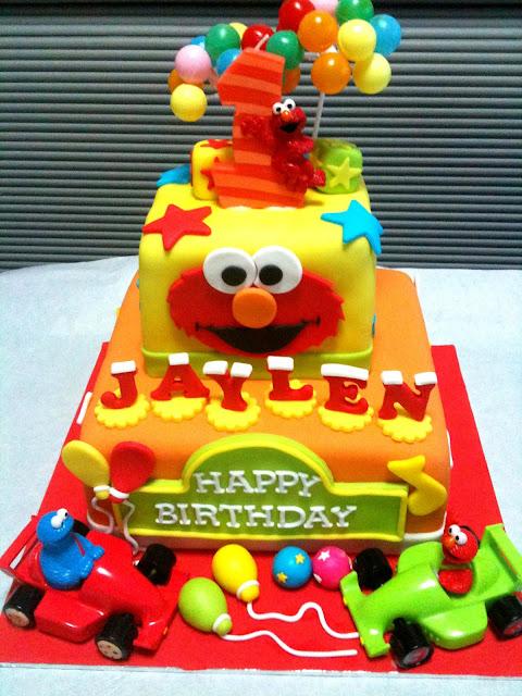 Oven Creations Happy 1st Birthday Jaylen