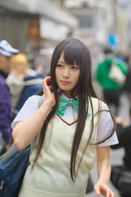 御伽ねこむ Nekomu Otogi School Girl Images 07