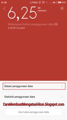 Xiaomi redmi note 4g tidak bisa download di Playstore