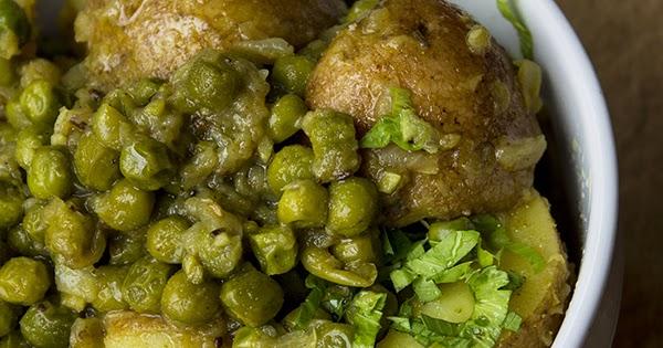 Un vegano appetito sookha aloo matar cucina indiana for I cucina indiana
