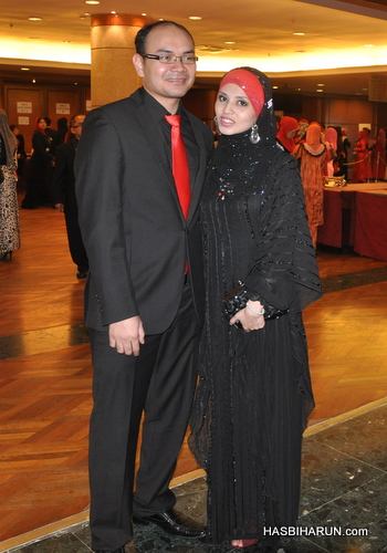 Gambar Hasbi Harun dan Adibah Karimah ejen premium beautiful GLG