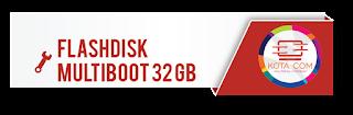 Jual Flashdisk Multiboot Install Ulang Bonus DriverPack Software 16GB Windows  7 8 8.1 10 32Bit dan 64Bit All IN ONE Bonus DriverPack