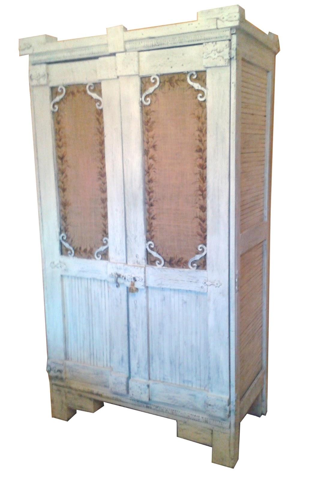 La magia de rudi pintura art stica muebles artesanales - Armarios roperos rusticos ...