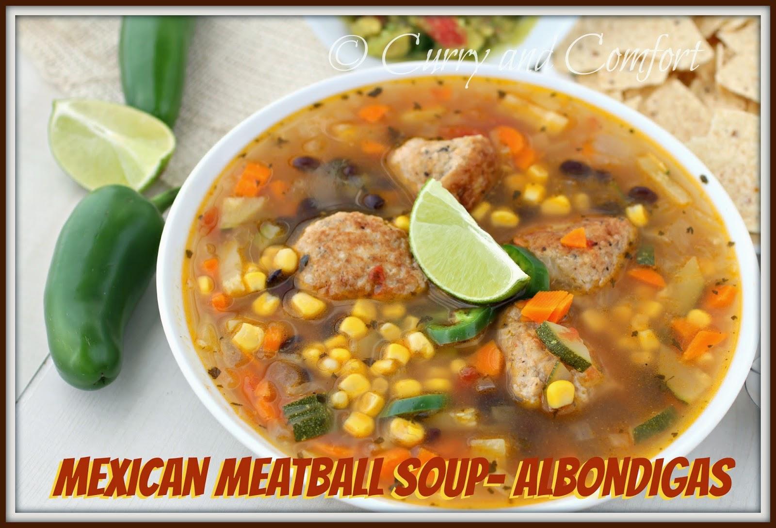 Kitchen Simmer: Mexican Meatball Soup (Albondigas)- Throwback Thursday