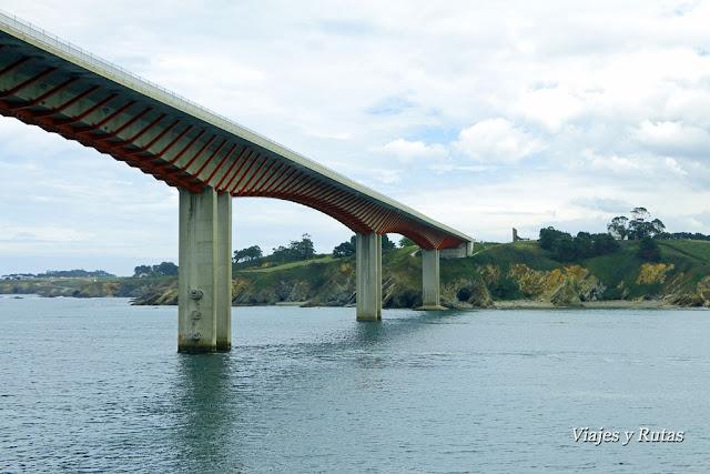Puente dos Santos, Ribadeo