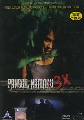Panggil Namaku 3 X Poster