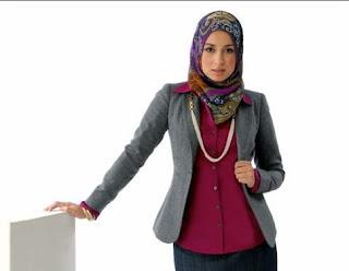 Model Jilbab Terbaru Yang Cocok Untuk Wanita Karier