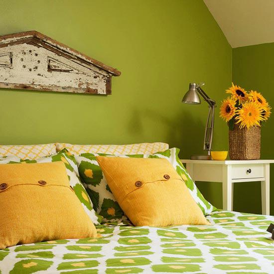 De que color pintar las paredes del dormitorio for Dormitorios verde agua