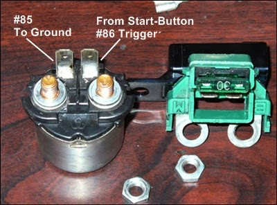honda motorcycle starter solenoid wiring starter button not working! - honda shadow forums : shadow ...
