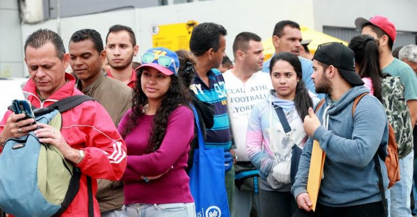 Mayoría de venezolanos que migra al Perú tiene estudios superiores, según estudio de la ONU