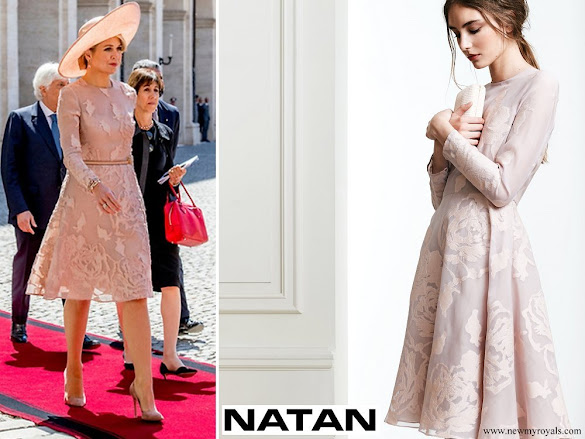 Queen Maxima wore NATAN Dress Spring Summer 2017