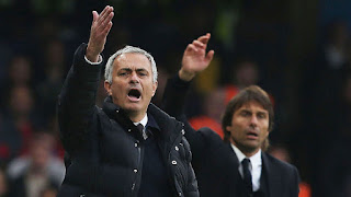 Jose Mourinho and Conte