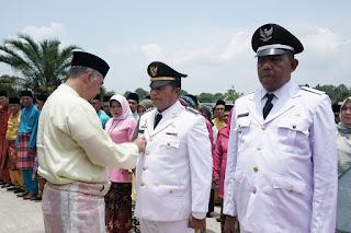 Wali Kota Jambi Lantik Pejabat dipinggiran Danau Sipin