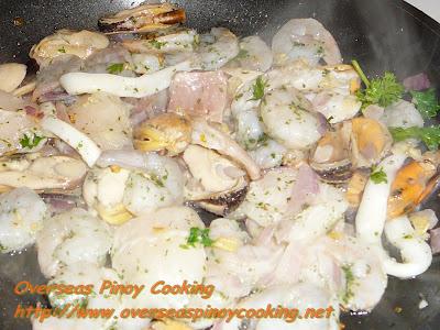 Marinara Seafood Mix