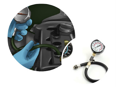 Memeriksa Tekanan Kompresi Mesin Mobil