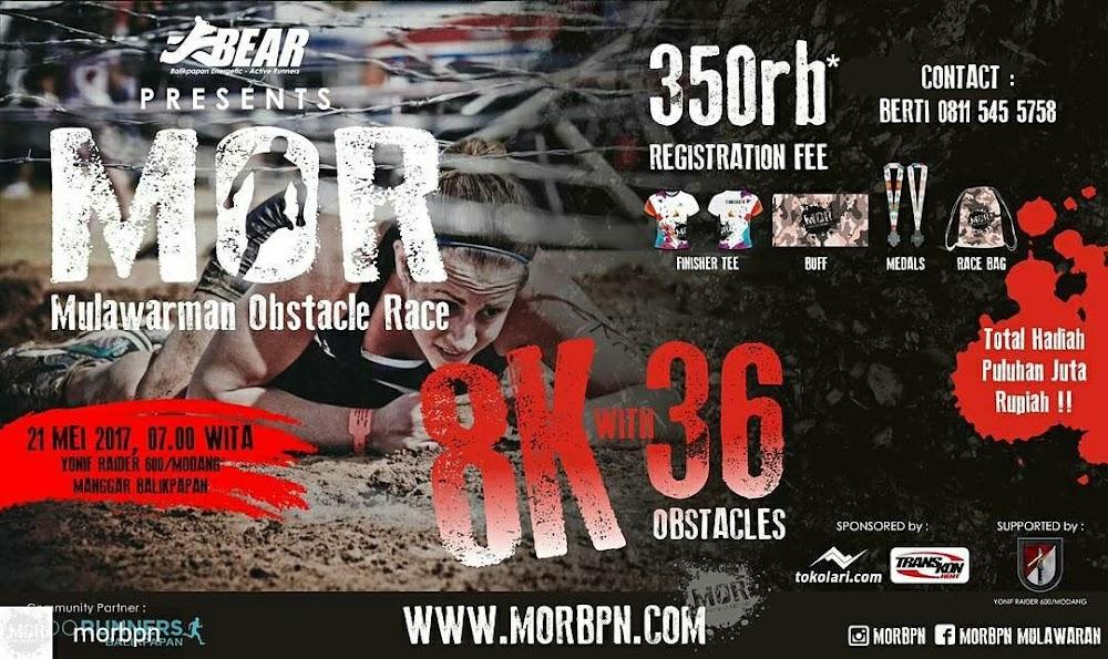 Mulawarman Obstacles Race • 2017