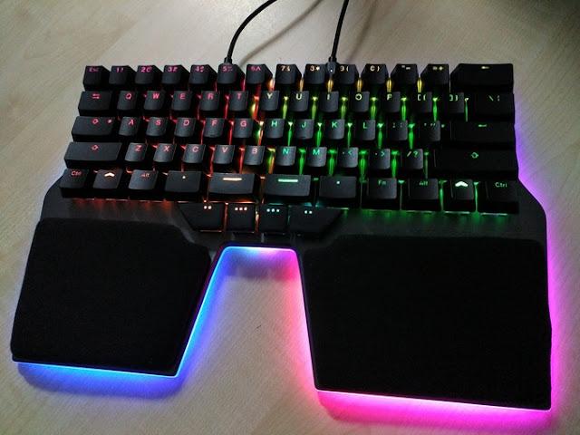 Dygma Raise, Keyboard Game Untuk Meningkatkan Performa Dan Kenyamanan Gamers