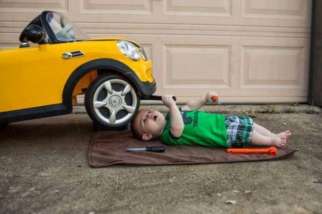 fotos inesperadas y divertidas de autos