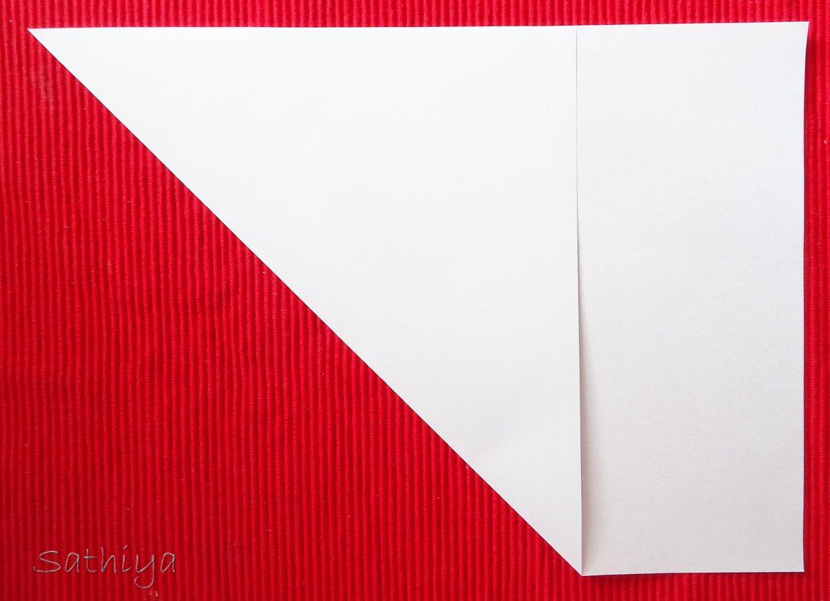 wie samt und seide gefalteter brief origami. Black Bedroom Furniture Sets. Home Design Ideas
