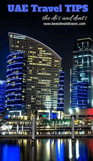 Dubai rules for tourists spots