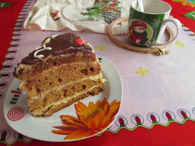 Медена торта Часовник