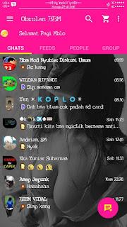 BBM Kemod season 6 Apk Transparent v2.13.1.14 Keren Terbaru