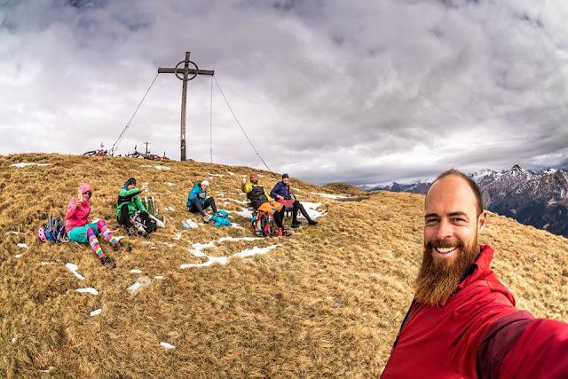 Gipfelkreuz Hoher Lorenzenberg