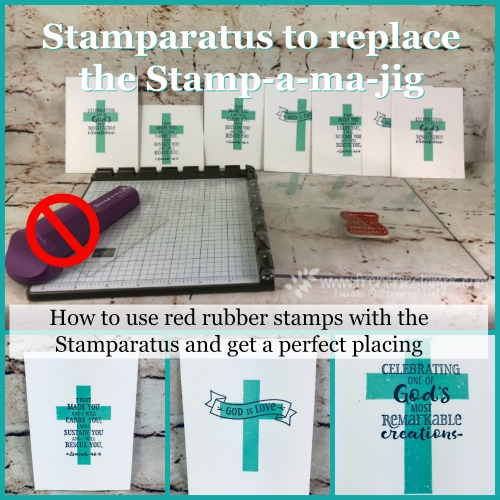 Stamparatus to replace the Stamp-a-ma-jig, Frenchiestamps, Stampin'Up!