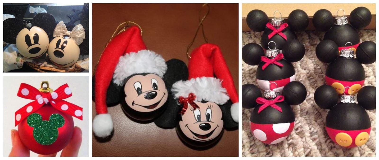 Aprende Cómo Hacer Esferas De Mickey Mouse Y Minnie Para