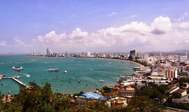 Pattaya bay in 2010