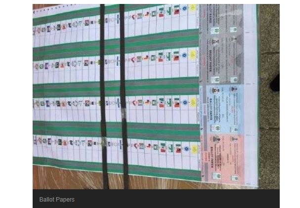 BREAKING: Truck Carrying Unused 2015 Ballot Papers Nabbed In Rivers​