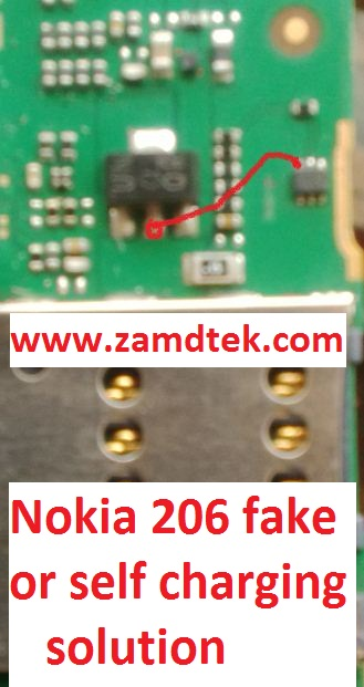 Nokia 206 fake or self charging solution