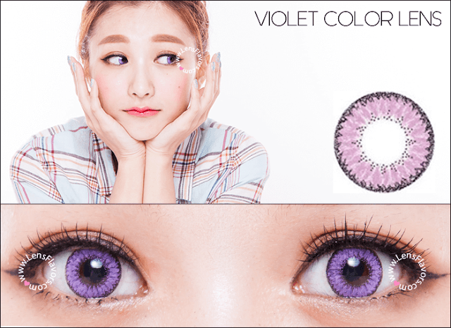 eos fairy violet circle lenses
