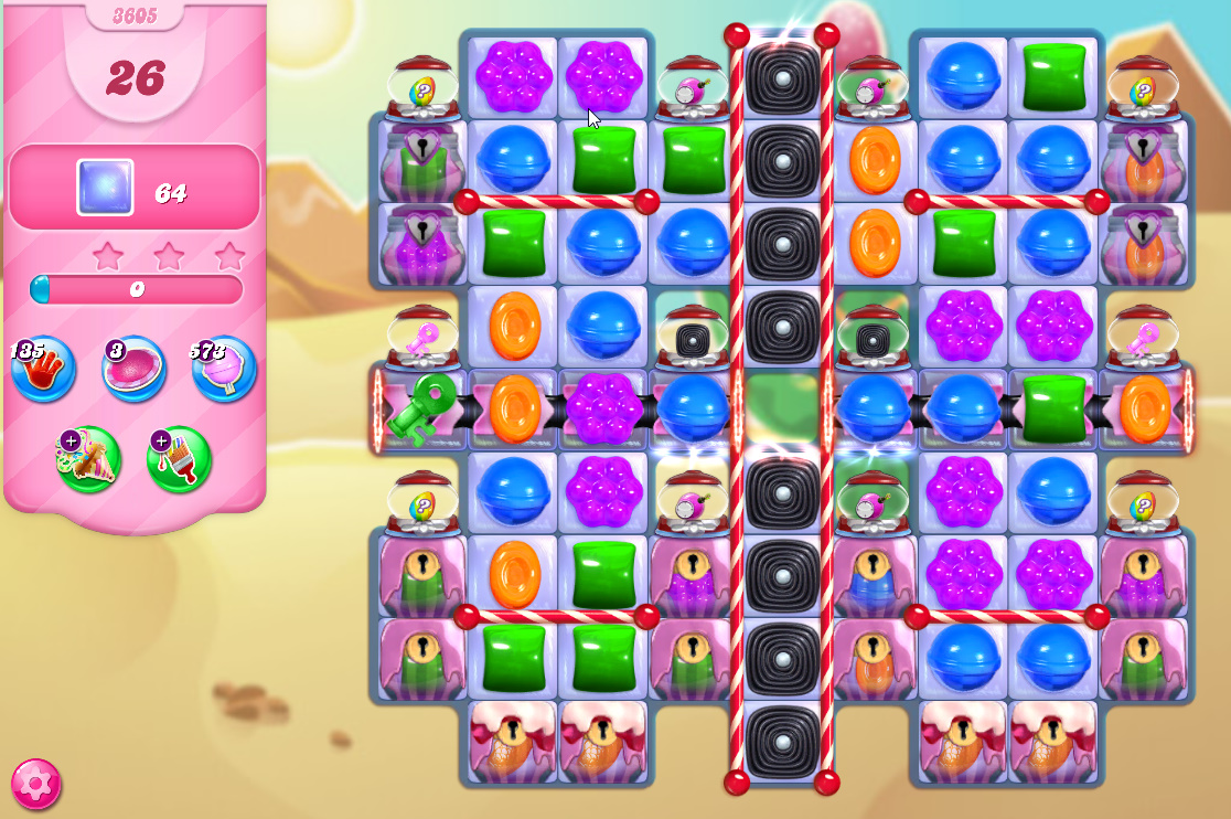 Candy Crush Saga level 3605