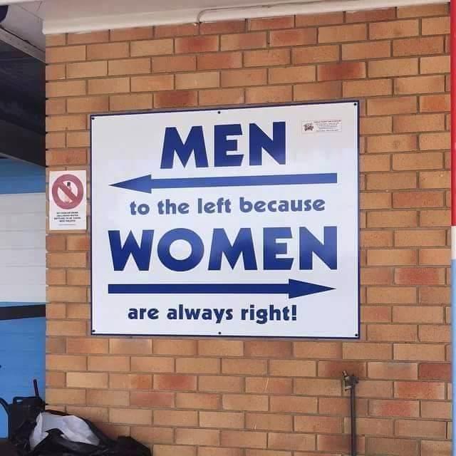 gambar lucu wanita selalu benar