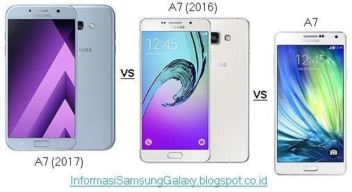 Perbandingan Samsung A7 (2017) vs A7 (2016) vs A7