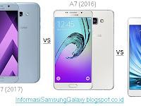 Perbandingan Galaxy A7 (2017) vs Galaxy A7 (2016) vs Galaxy A7
