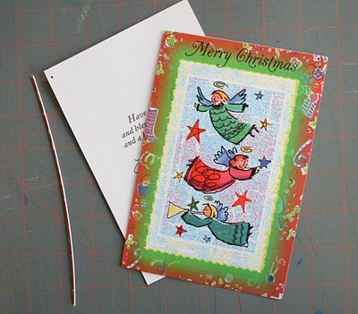 para guardar tarjetas navideñas
