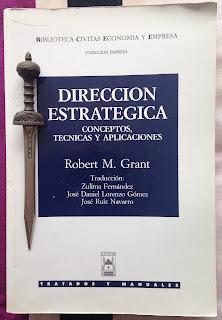 Portada del libro Dirección estratégica, de Robert M. Grant