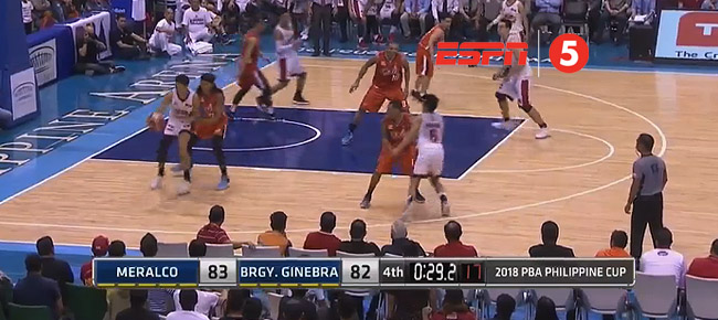 Meralco def. Ginebra, 84-82 (REPLAY VIDEO) February 18