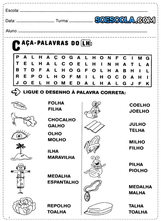 Atividades de português para o segundo ano do ensino fundamental que fala sobre, escreva, usando letra cursiva o nome completo, nome do seu professor, da escola e o nome do seu melhor amigo ou amiga e complete as palavras do alfabeto ilustrado com as vogais.