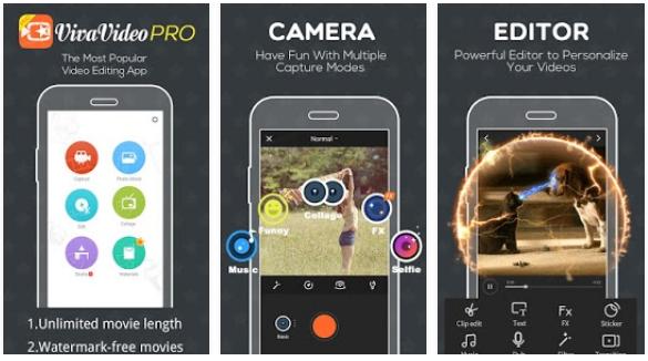 Free Download VivaVideo Pro Apk Aplikasi Edit Video Terbaik Untuk Android