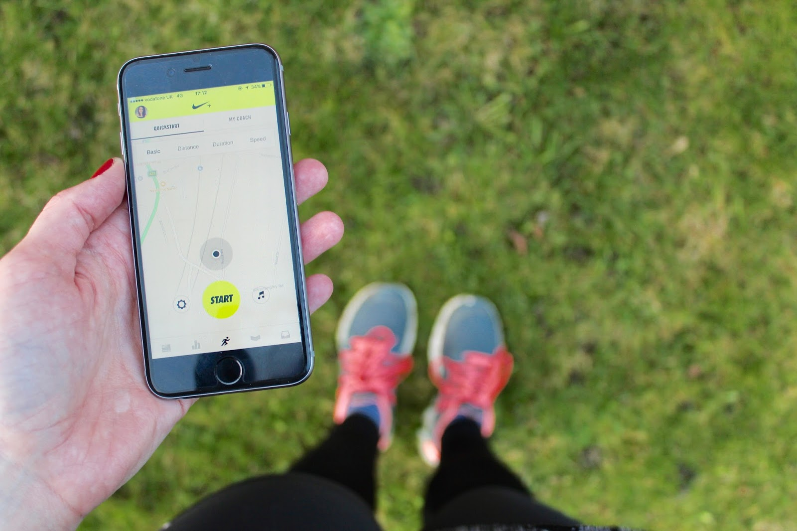 running nike app exercise fitness health blog blogger bloggers inspiration kirstie pickering