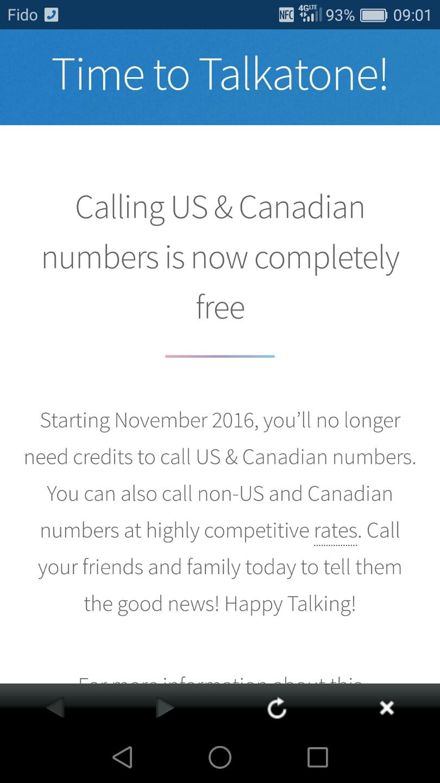 Canadian Rewards: Talkatone App Introduction