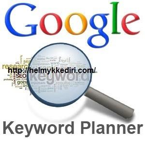Riset keyword dengan google planner